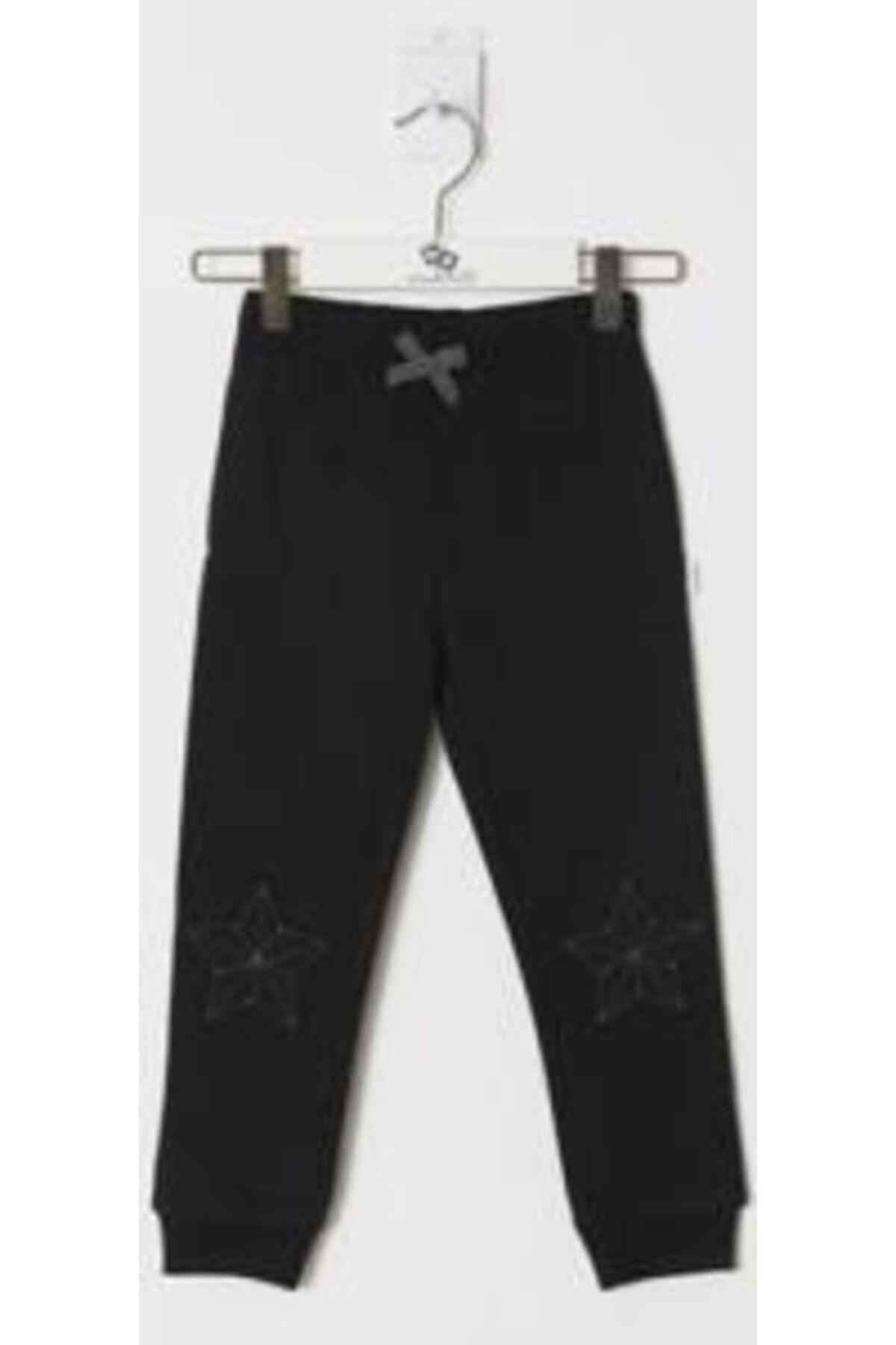 Wonder Kıds Kız Çocuk Siyah Pantolon WK19AW1225-B 1