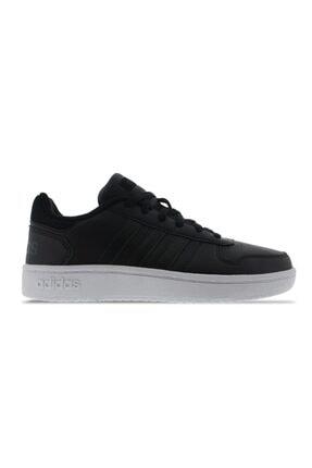 adidas Hoops 2.0 W Siyah Beyaz Kadın Sneaker Ayakkabı 100350601