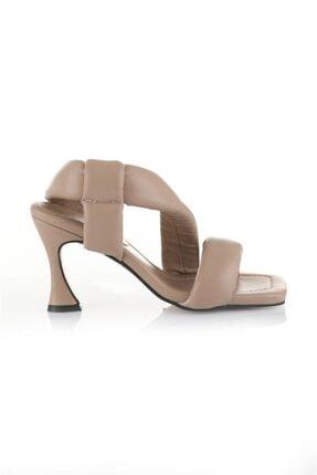 Oblavion Kadın Vizon Topuklu Sandalet