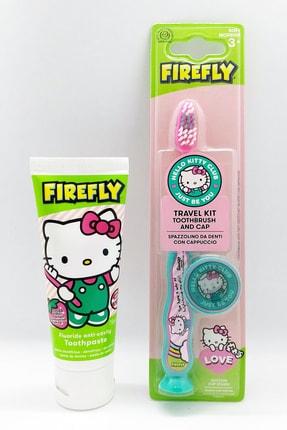Hello Kitty Hello Kıtty Diş Macunu Ve Diş Fırçası Ağız Bakım Seti