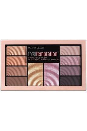 Maybelline New York Total Temptation Eyeshadow Highlight Far Ve Aydınlatıcı Palet 3600531484590