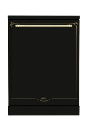 Vestel BM 5001 RS Siyah Rustik 5 Programlı Bulaşık Makinesi