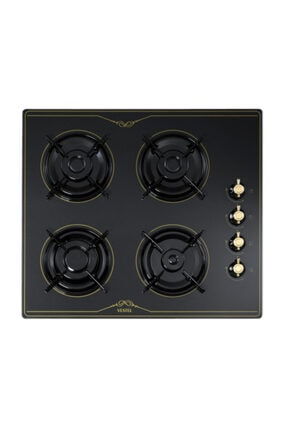 Vestel AO-6104 RS Rustik Siyah Ankastre Ocak