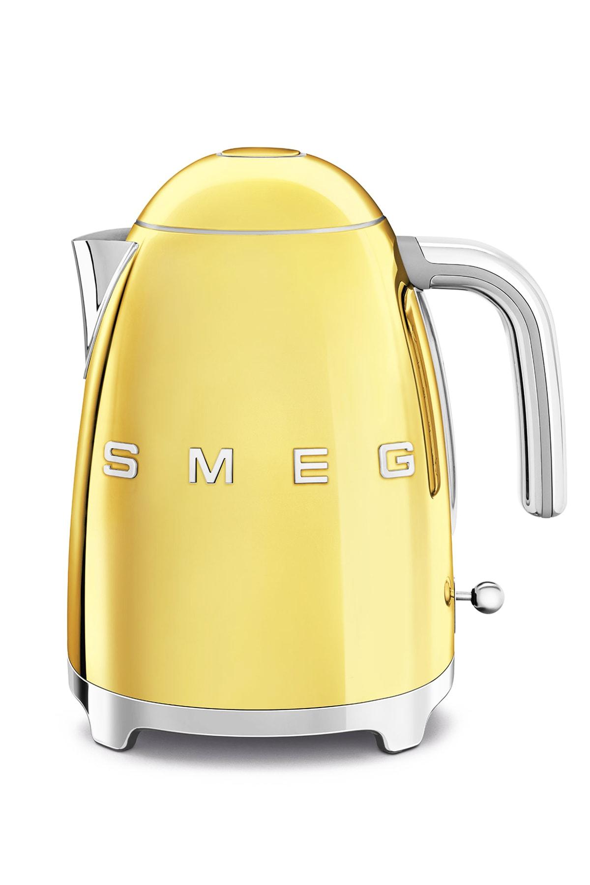 SMEG Altın Rengi 50's Style Kettle Klf03goeu 1