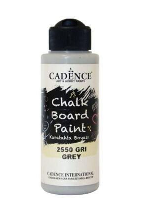 Cadence Gri Chalkboard Paint 120ml Kara Tahta Boyası 2550