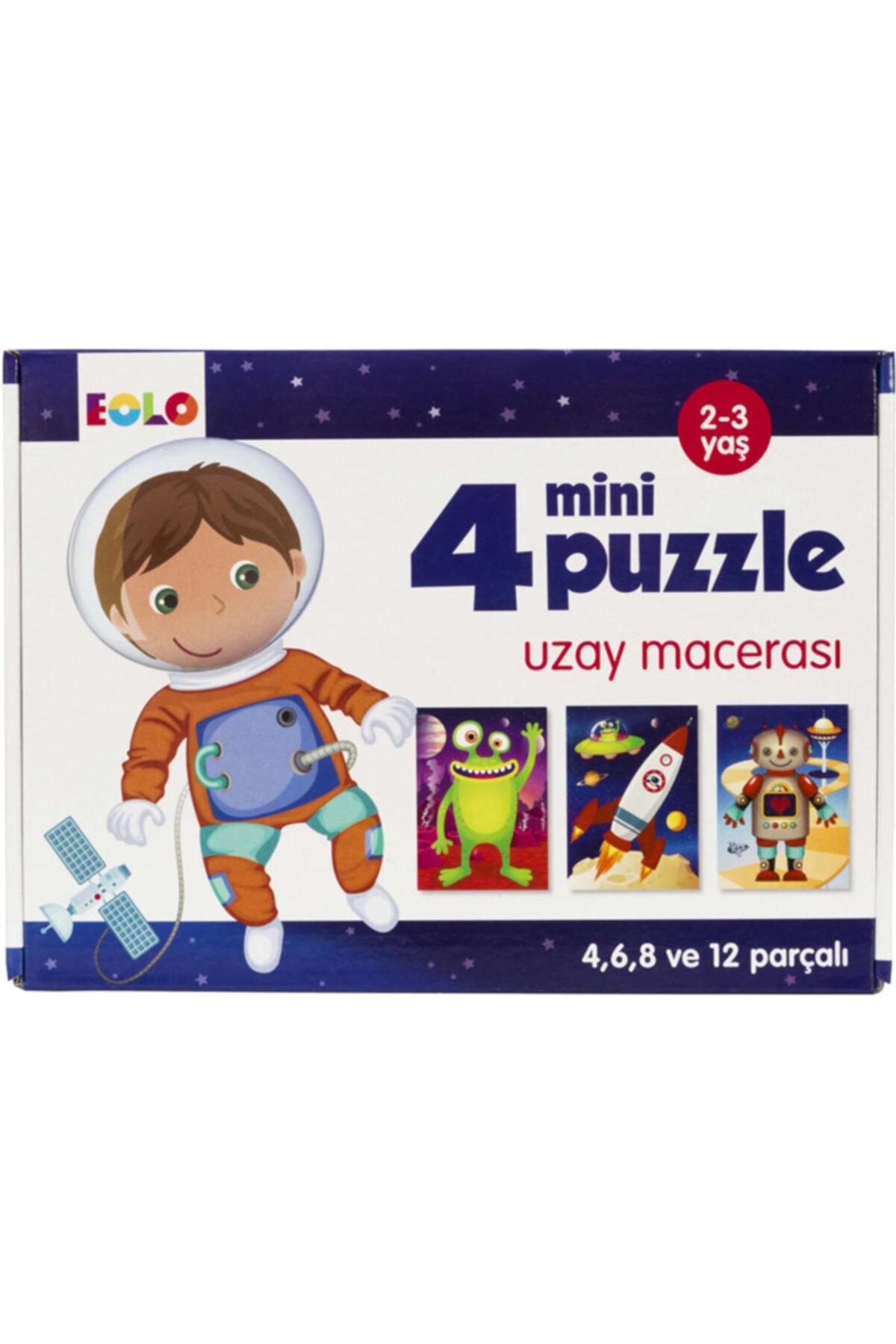 Eolo 4 Mini Puzzle Uzay Macerası 2-3 Yaş 1