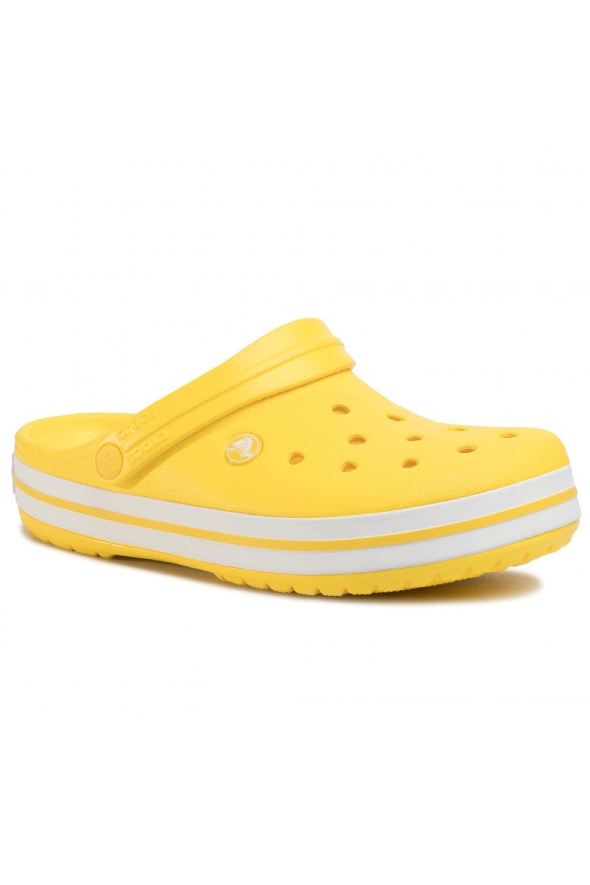 Crocs Unisex Sarı Crocband Terlik 1