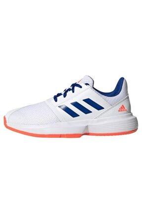 adidas Erkek Çocuk Beyaz  Fv4123 Courtjam Tenis Ayakkabısı