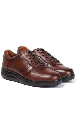 MARCOMEN 3237 Deri Dr Marco Kahve Ortapetik Erkek Ayakkabı