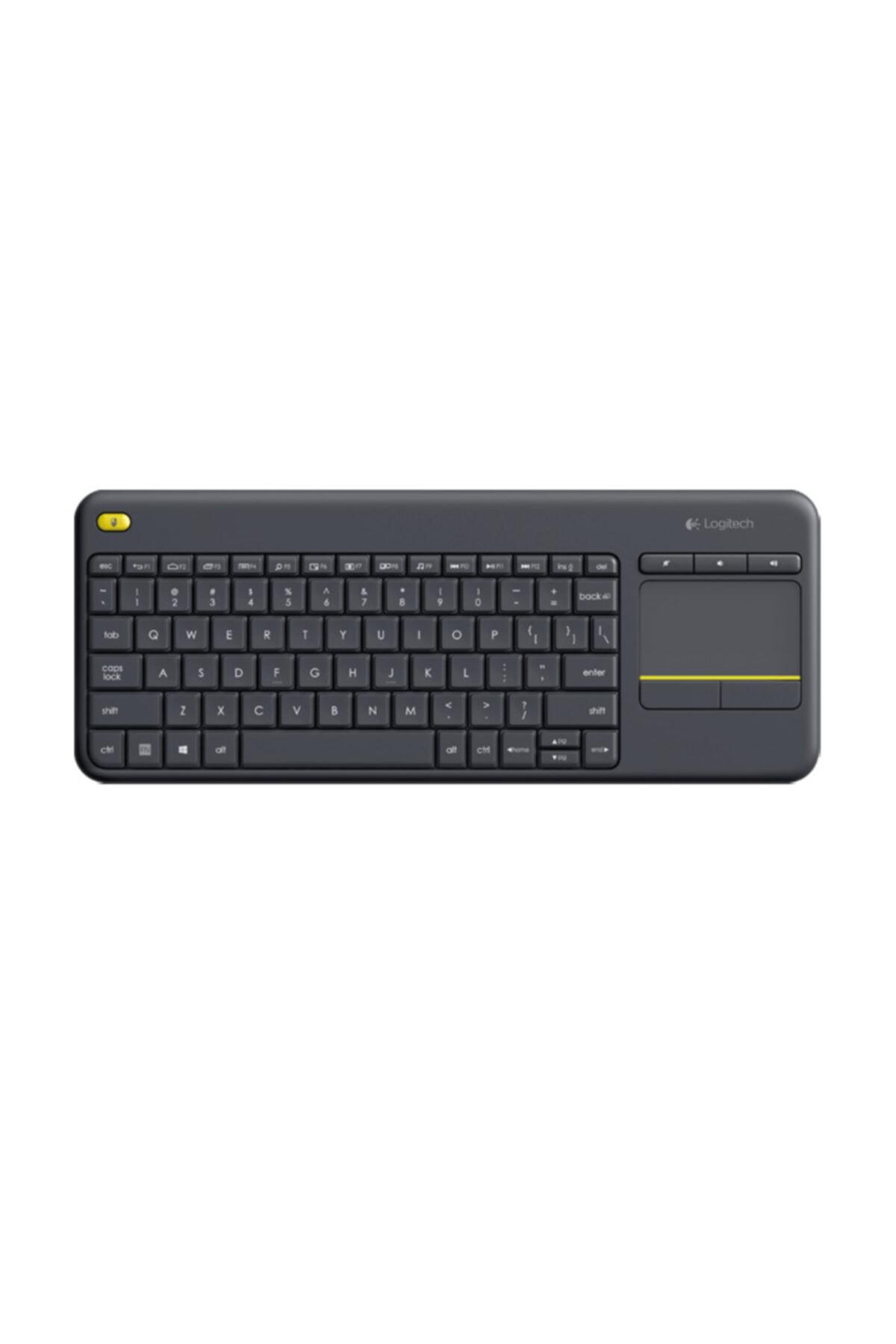 logitech K400 Plus Kablosuz Smart Tv Touchpad Klavye 1