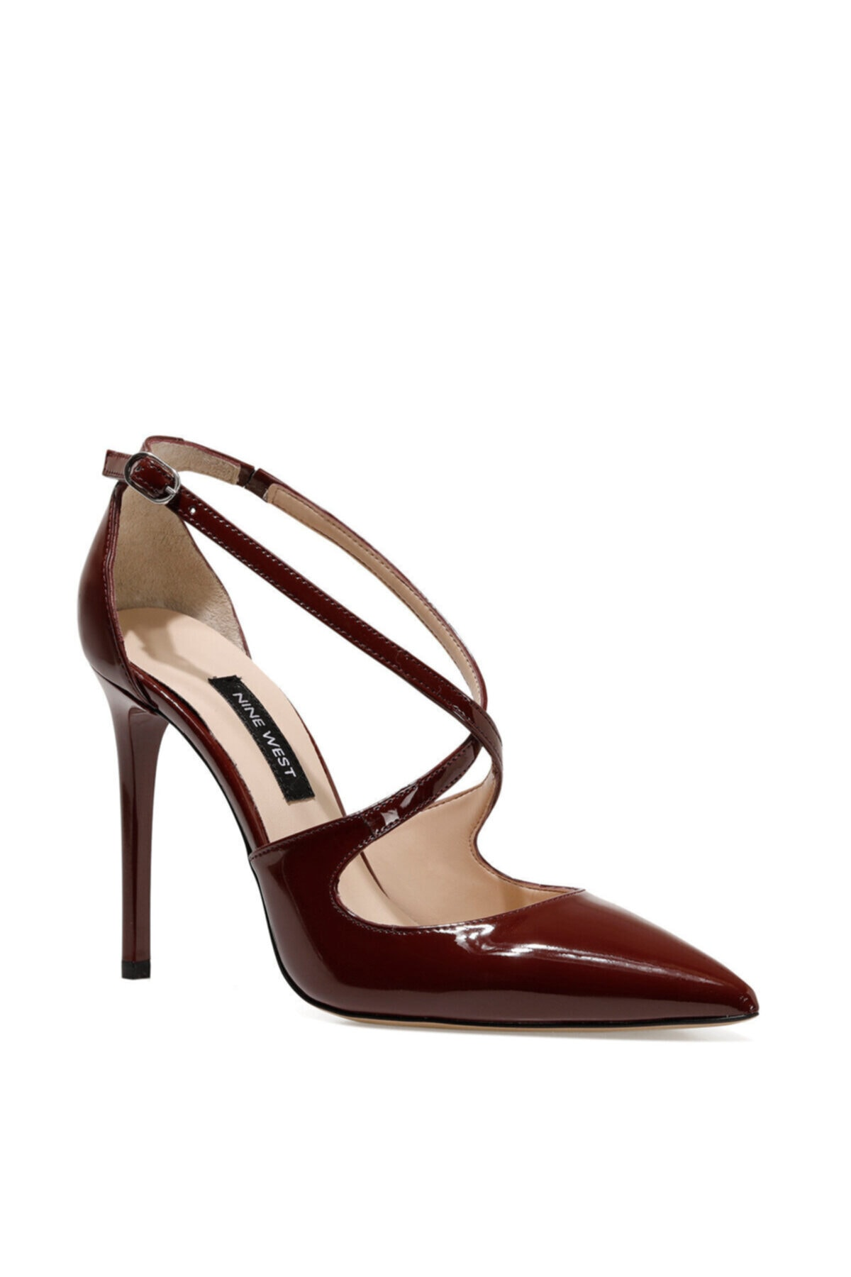 Nine West STEFANIA Koyu Kırmızı Kadın Topuklu Ayakkabı 100582129 2