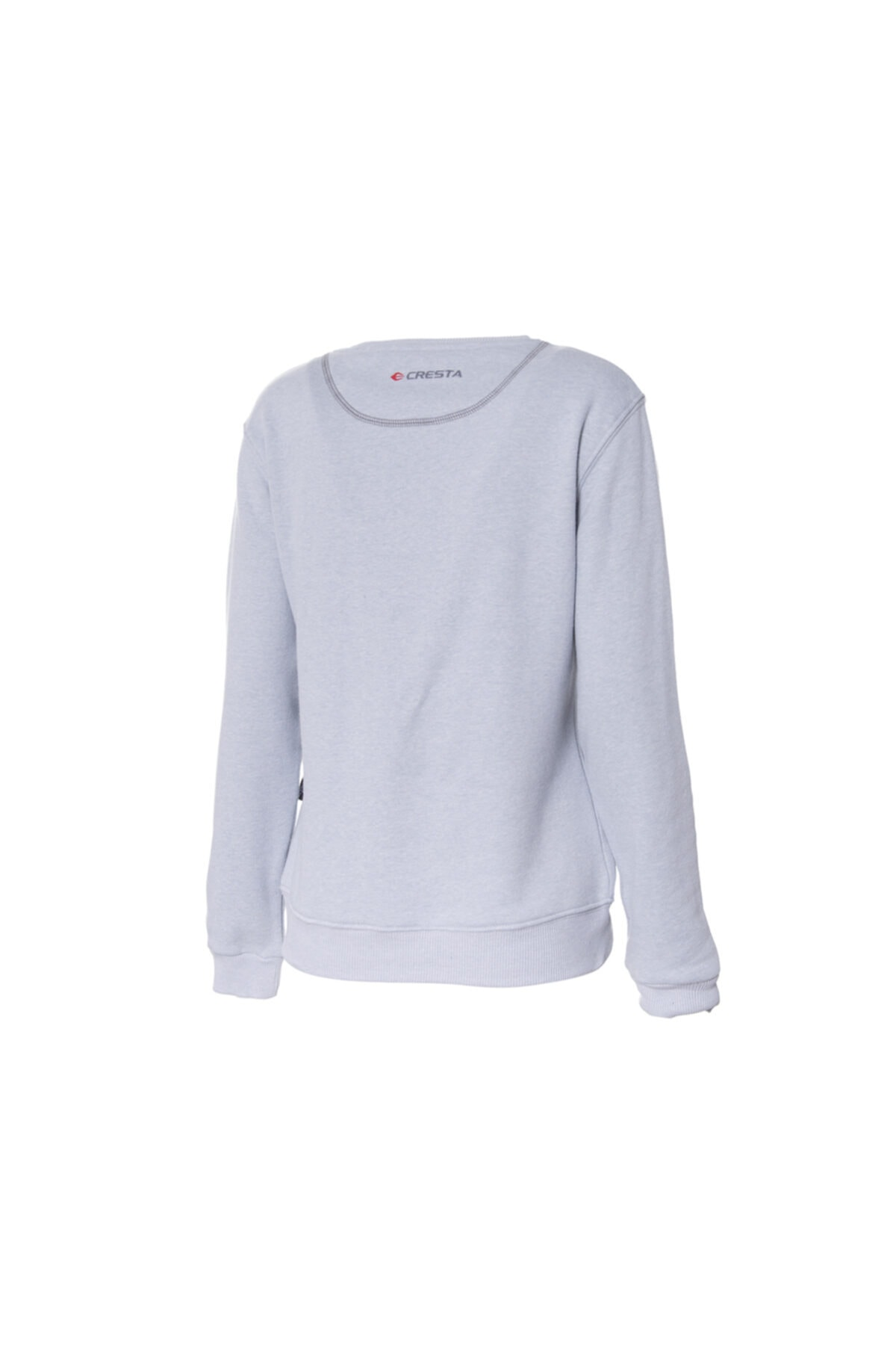 Cresta Kadın Gri Basic Outdoor Sweatshirt 2