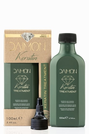 DAIMON Premium Series Aşırı Yıpranmış Saçlar Için Güçlendirilmiş Keratin Bakım Yağı 100 Ml