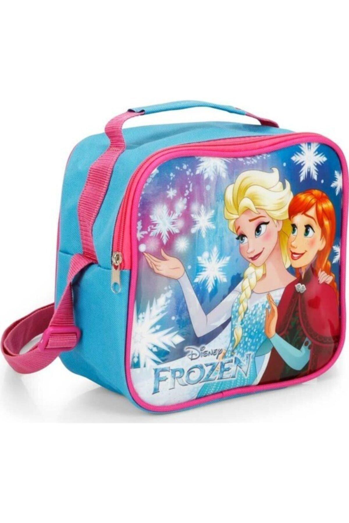 Hakan Çanta Mavi Frozen Elsa Beslenme Çantası 1