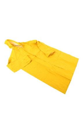 MURAT UYGUN Unisex Sarı Pvc Yağmurluk