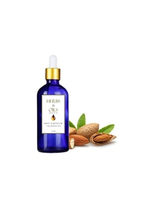 herbsandoils Tatlı Badem Yağı 50 Ml ( Soğuk Sıkım )
