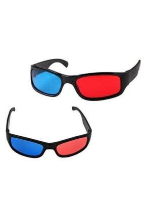 FırsatVar 3 Boyutlu Film Video Izlemek Için Plastik 3 Boyutlu Gözlük