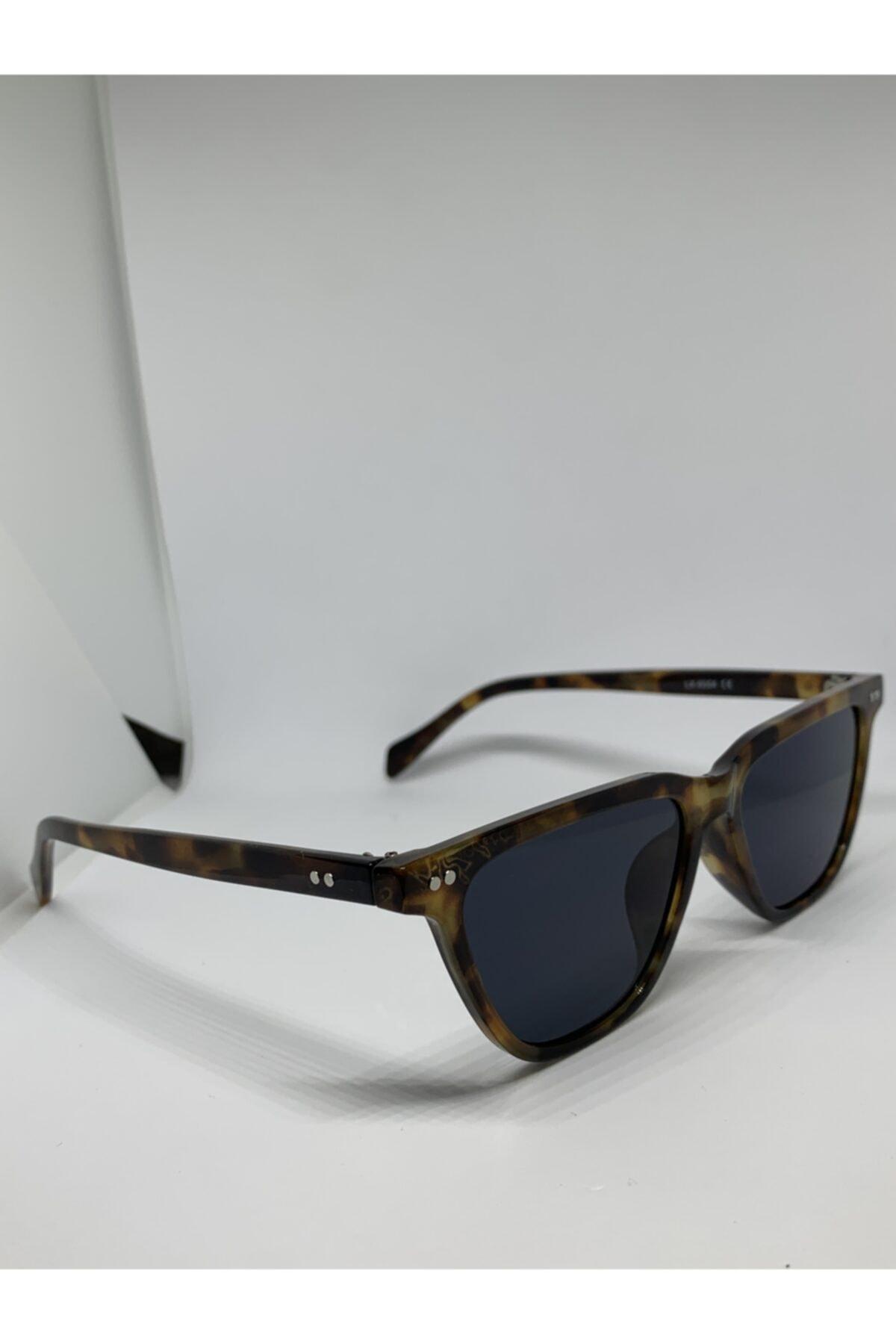 Toz Vintage Siyah Leopar Güneş Gözlüğü 2