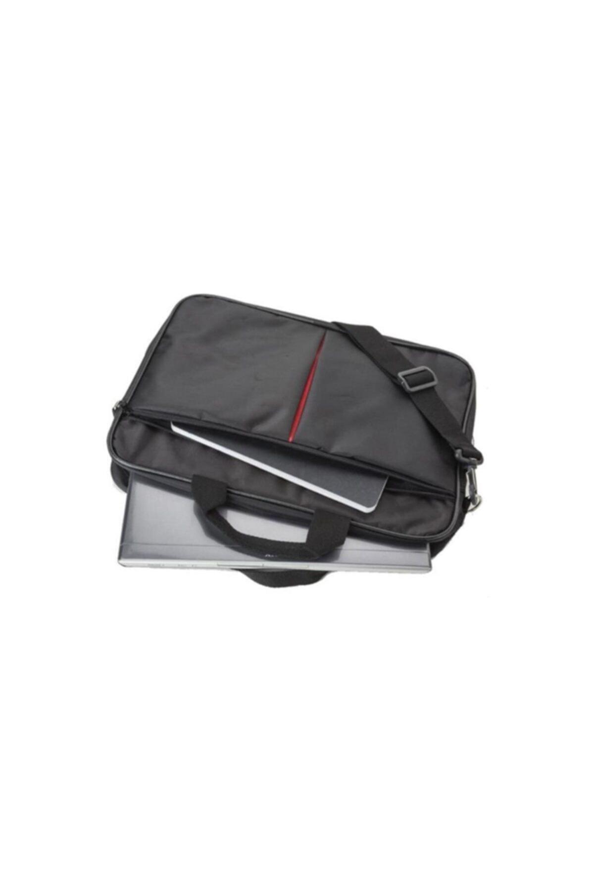 """İTEK Unisex Siyah 15.6"""" Laptop Çantası 1"""