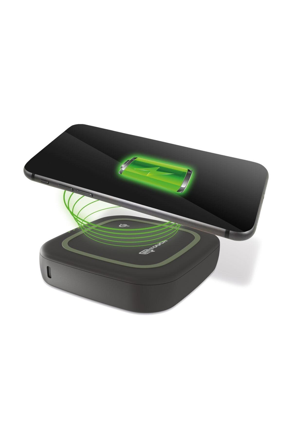 İntouch 10.000mah Cube 18w Pd 10w Wireless Taşınabilir Powerbank 1