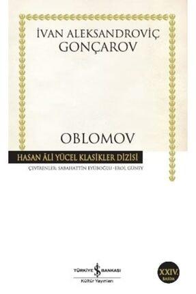 İş Bankası Kültür Yayınları Oblomov Hasan Ali Yücel Klasikler