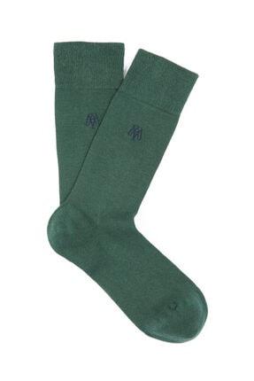 Mavi Yeşil Uzun Çorap