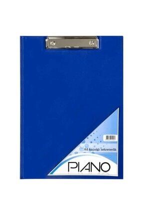 Piano Mavi Sekreterlik Pvc A4 Kapaklı