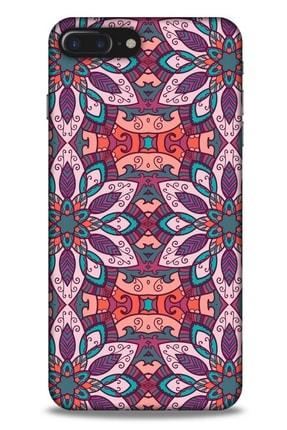 Lopard Ethnic Culture (8) Apple Iphone 8 Plus Kılıf Silikon Kapak Desenli