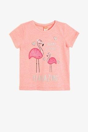 Koton Kids Kız Bebek Pembe T-Shirt