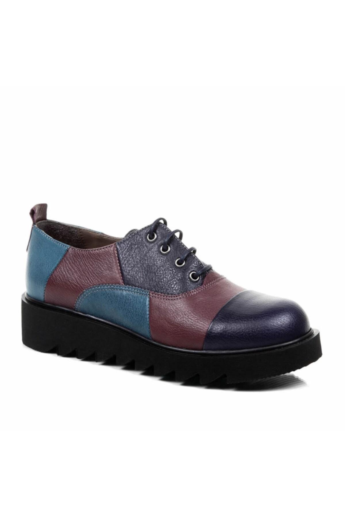 Beta Shoes Kadın Mor Ayakkabı 22-2030-829 1