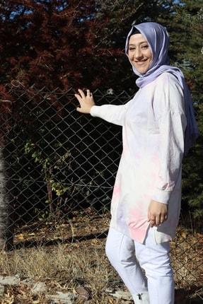 Loreen Kadın Ebruli Sweatshirt
