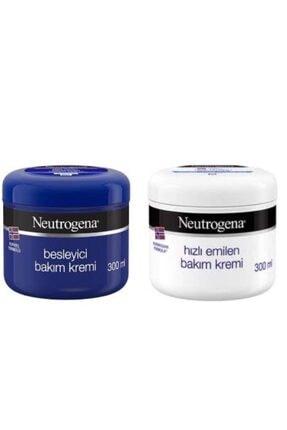 Neutrogena Besyleyici 300ml+ Hızlı Emilen 300ml