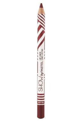 Pastel Dudak Kalemi - Show By Long Lasting Lip Pencil No: 208