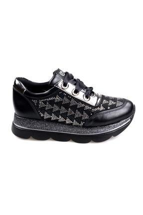 Pierre Cardin Kadın Siyah  Casual  Ayakkabı