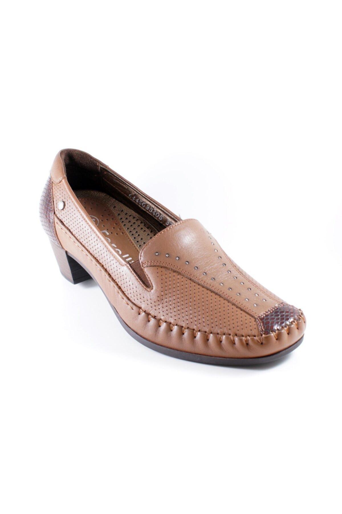 Forelli Kadın Bordo Ayakkabı 1