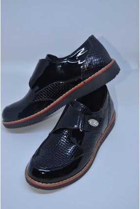 Aslı Türkoğlu Erkek Çocuk Siyah Ayakkabısı