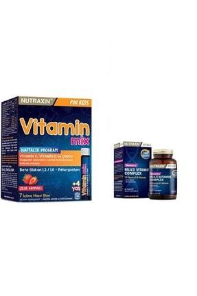Nutraxin Çocuklara Özel Vitamin Mix Ve Kadınlara Özel Multivitamin