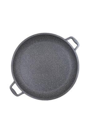Essenso Döküm 36 Cm Bazlama Tavası Siyah