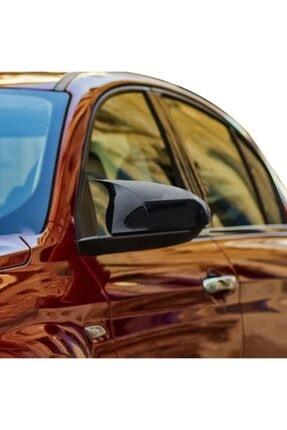 Carub Fiat Egea Batman Yarasa Ayna Kapağı Parlak Siyah Ayna Kapağı