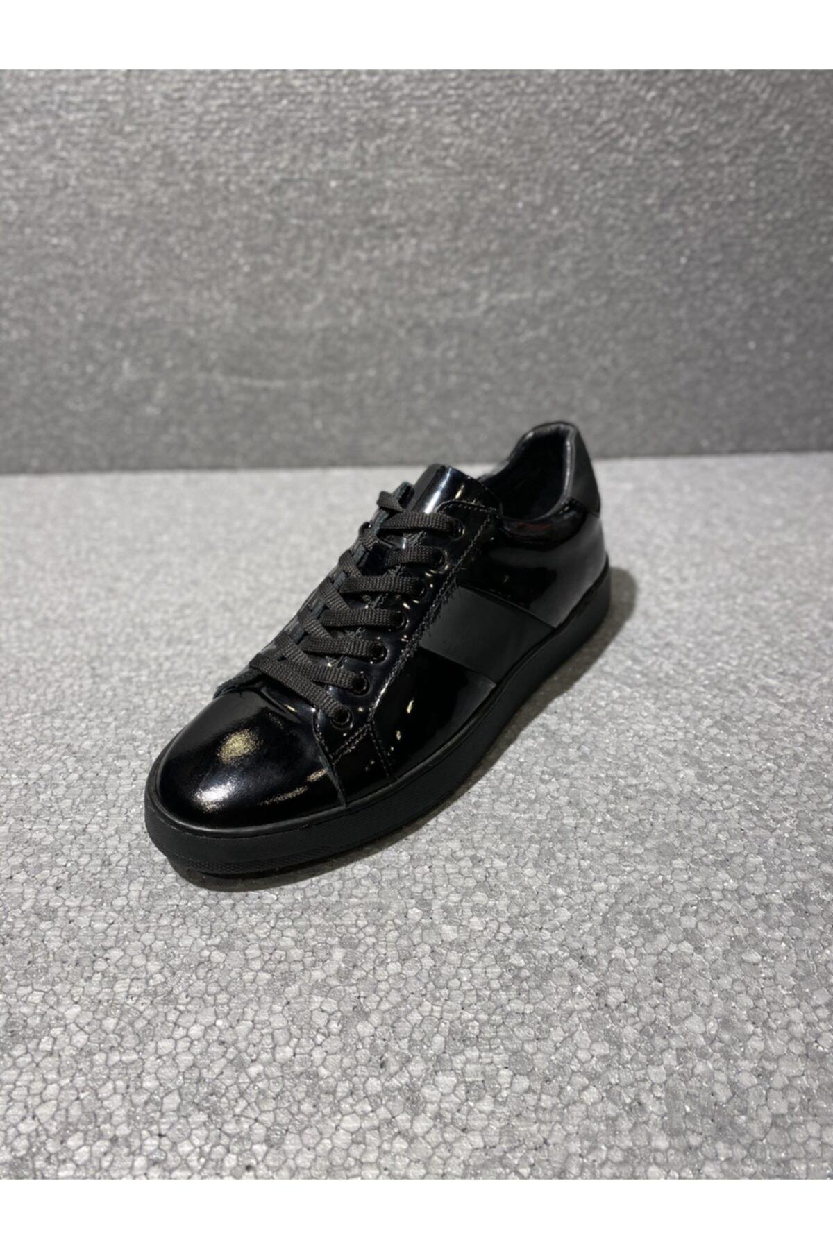 TETRİ Erkek Siyah Günlük Sneaker 2