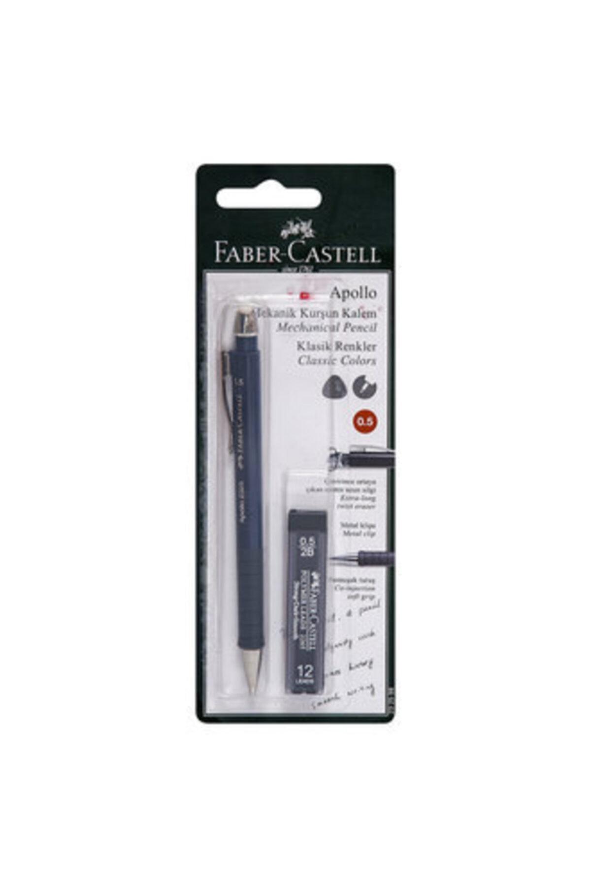 Faber Castell Apollo 07 Uç Hediyeli Mekanik Uçlu Kalem 1