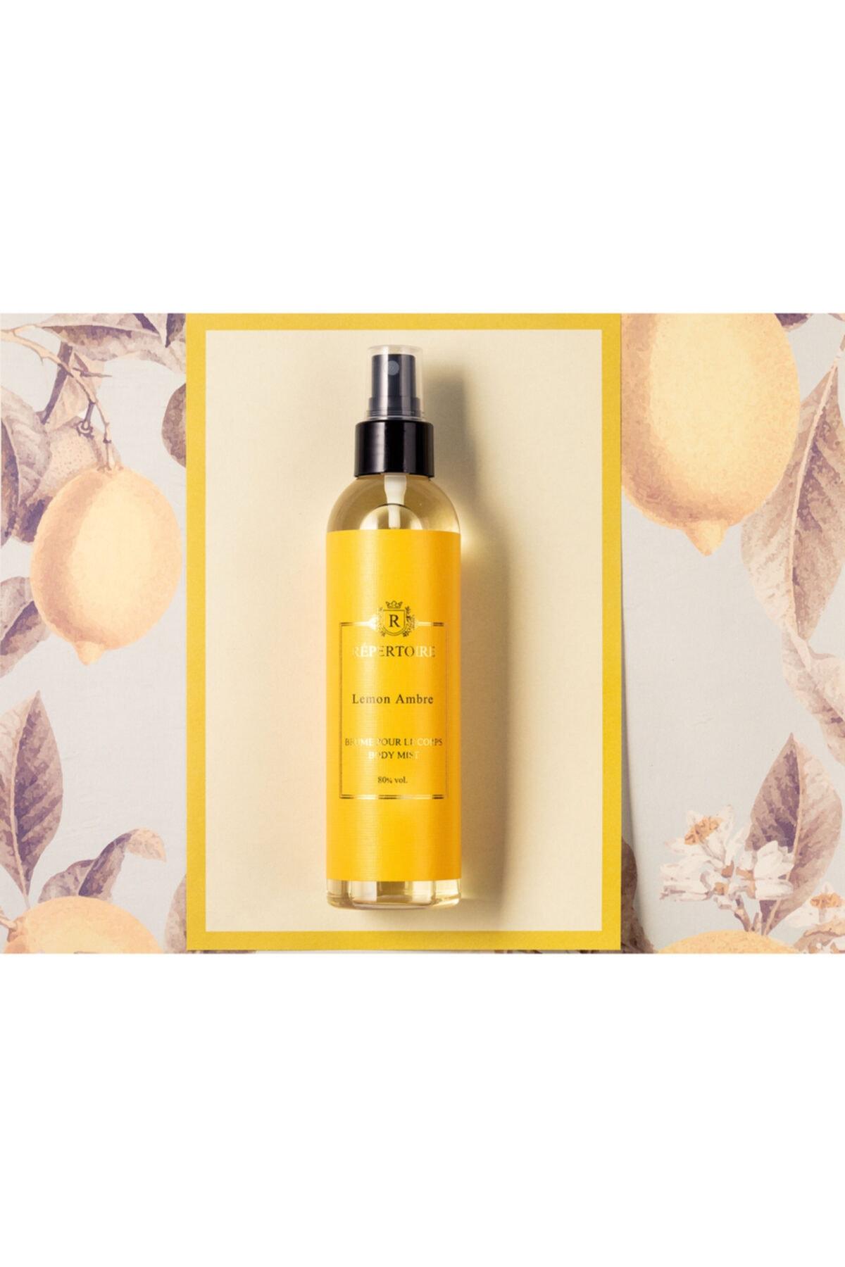 Madame Coco Répertoıre Vücut Spreyi 80° 200 Ml Lemon Ambre (limon Amber) 2