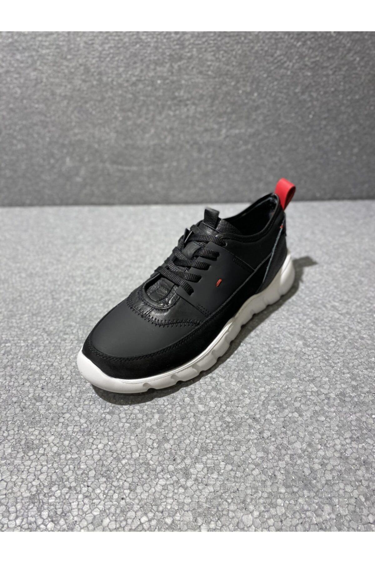 TETRİ Erkek Siyah Günlük Sneakers 2