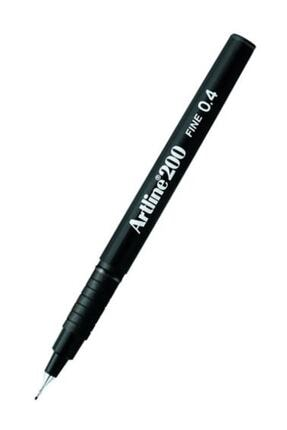 artline Artlıne 0.4 Mm Siyah Çizim Kalemi