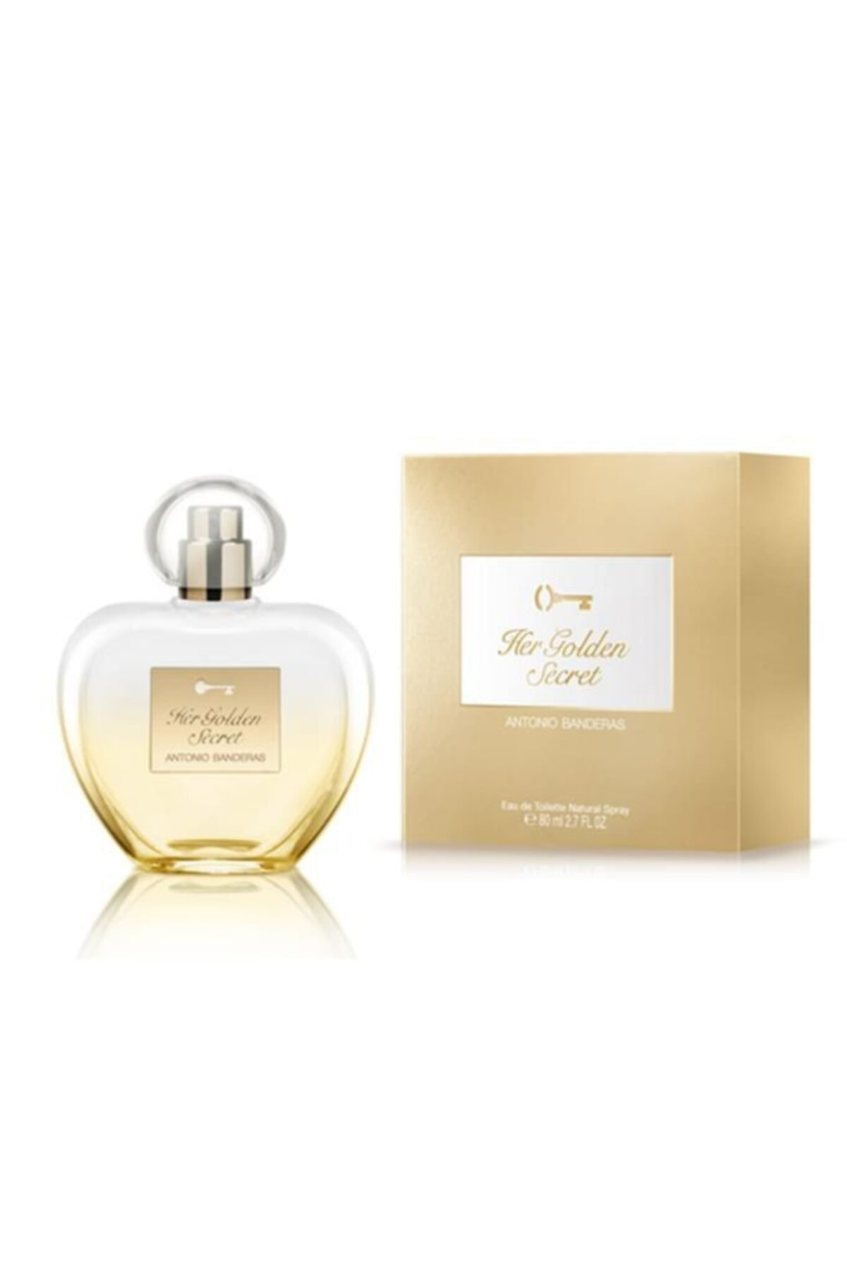 Antonio  Banderas Golden Secret Edt 80 ml Kadın Parfüm 8411061946671 1