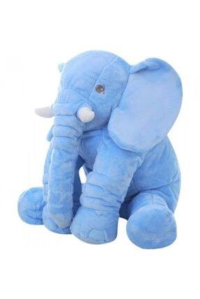 Sozzy Toys Uyku Arkadaşım Peluş Yumuşak Fil Mavi