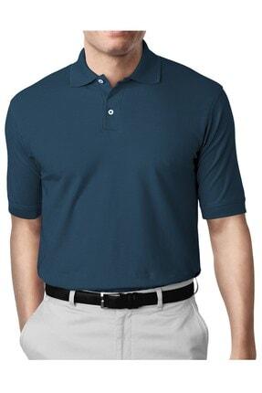 İgs Erkek Marin Modern Fit Polo Yaka T-shirt