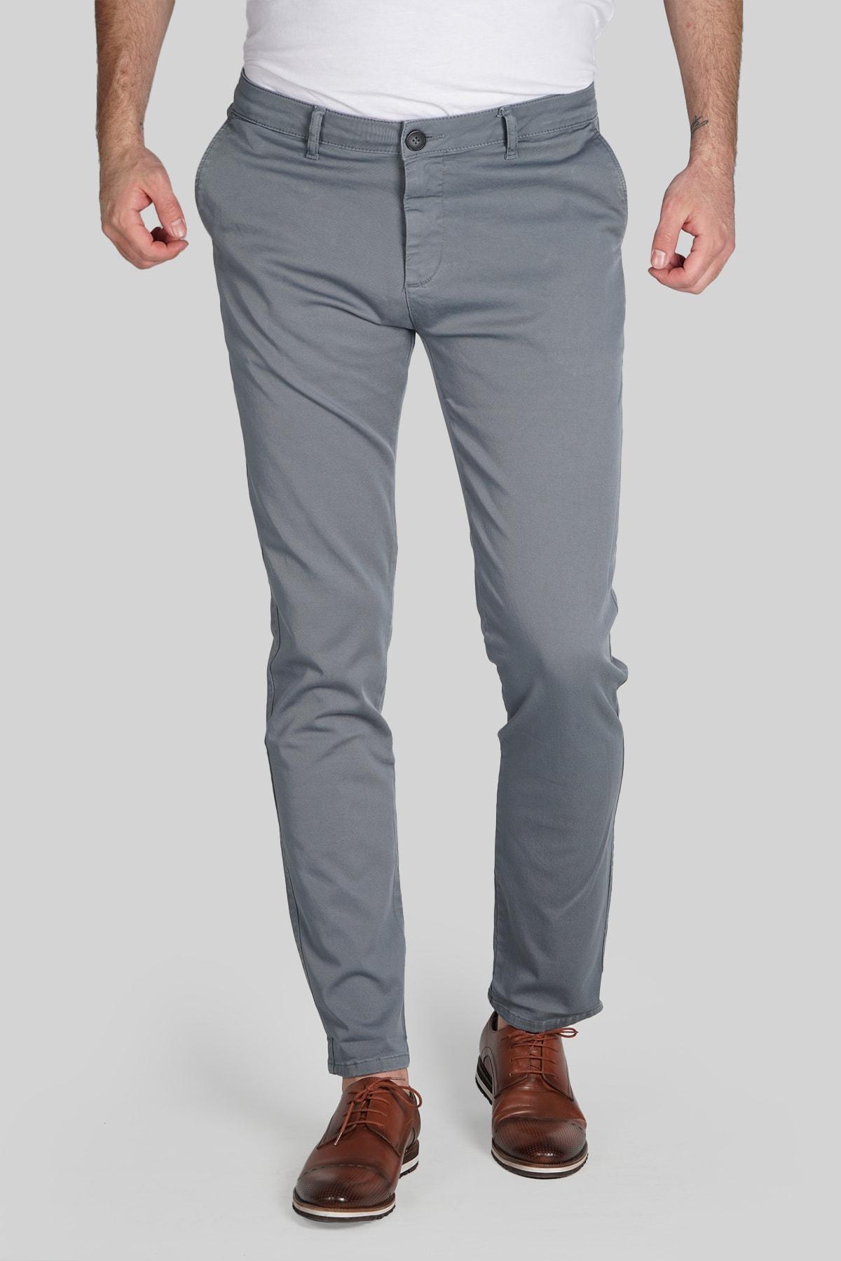 İgs Erkek Kurşuni Dynamic Pantolon 1