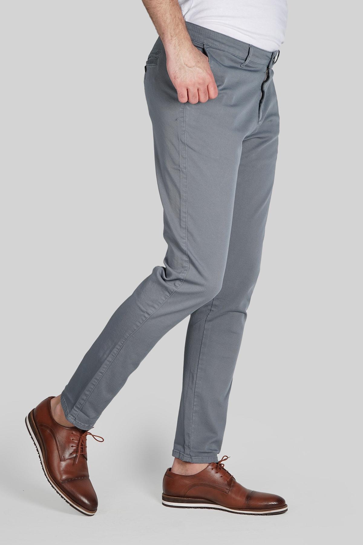 İgs Erkek Kurşuni Dynamic Pantolon 2