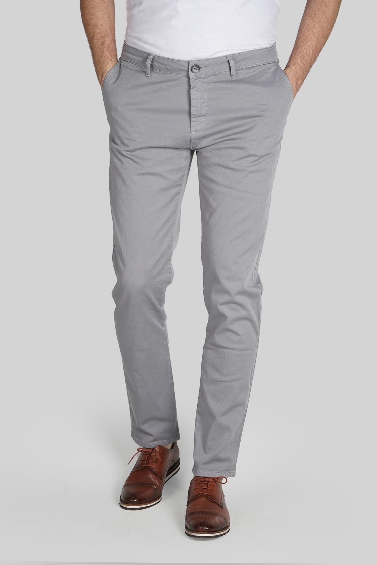 İgs Erkek Gri Dynamic Pantolon 1